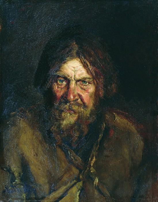 Голова крестьянина. Vasily Maksimov