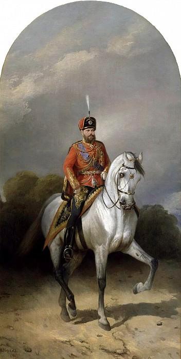 Александр III. 1881. Николай Егорович Сверчков