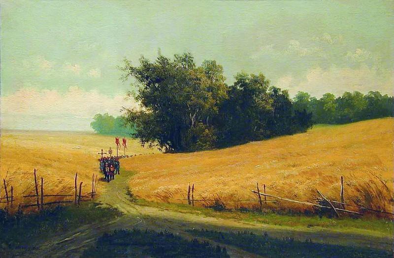 Поля. 1890-е. Arseny Meshersky