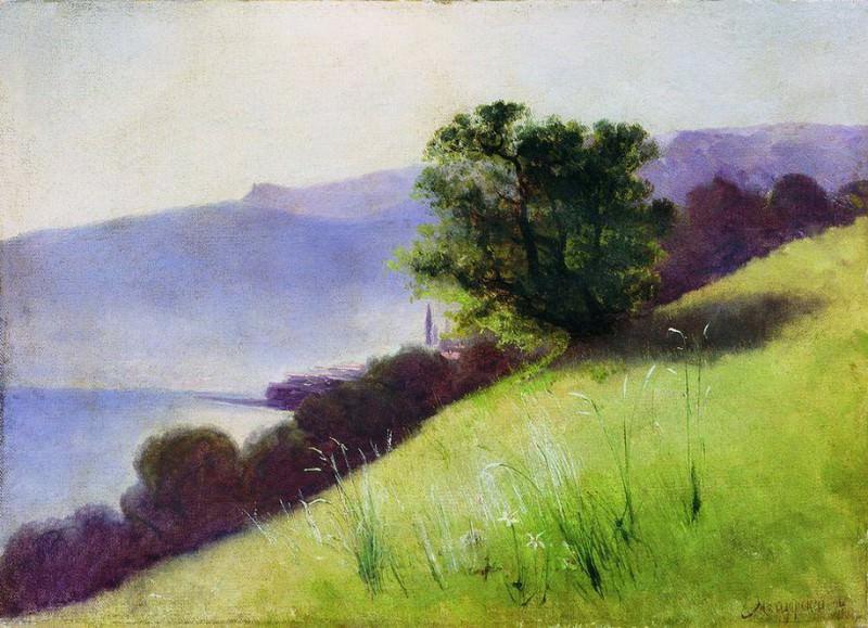 Пейзаж. 1894. Arseny Meshersky
