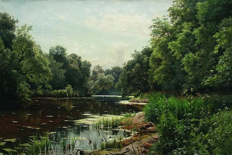 Заросший пруд. 1893. Арсений Мещерский