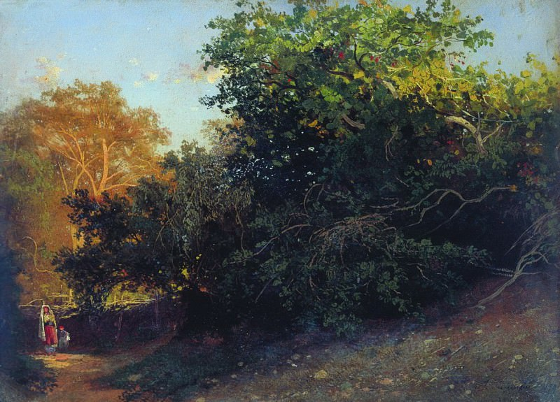 Лес у моря. Крым. 1879. Arseny Meshersky