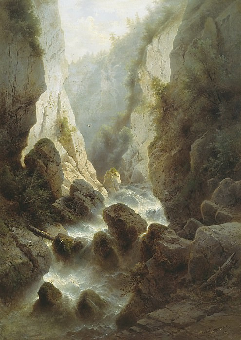 Дарьяльское ущелье. Arseny Meshersky