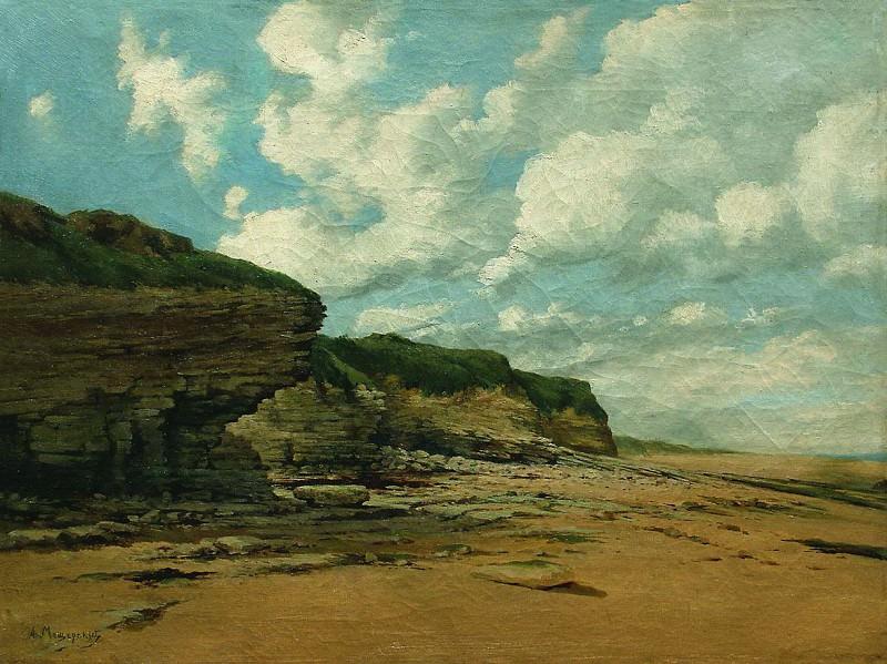 Скалистый берег. 1870-е. Arseny Meshersky