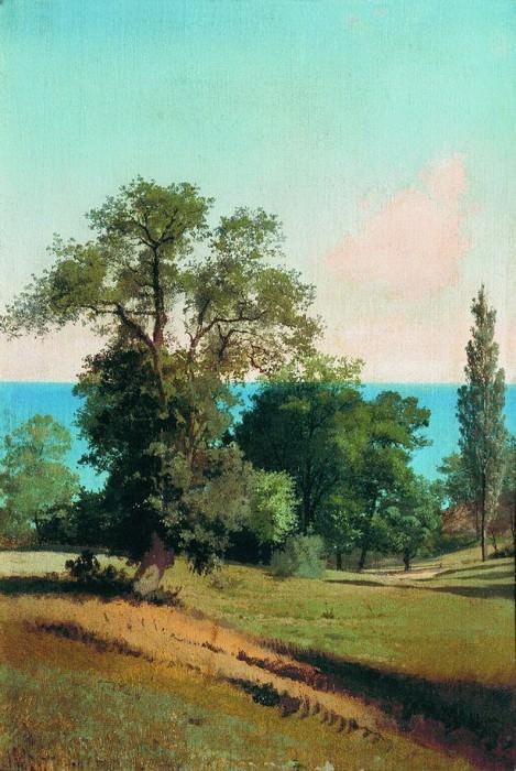 Южный пейзаж. 1880. Arseny Meshersky