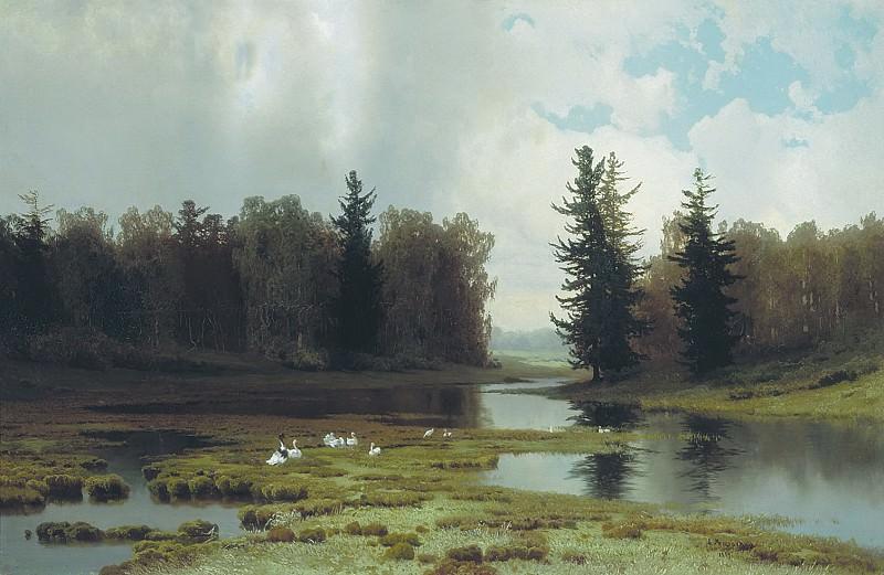 В кочках. 1889. Arseny Meshersky