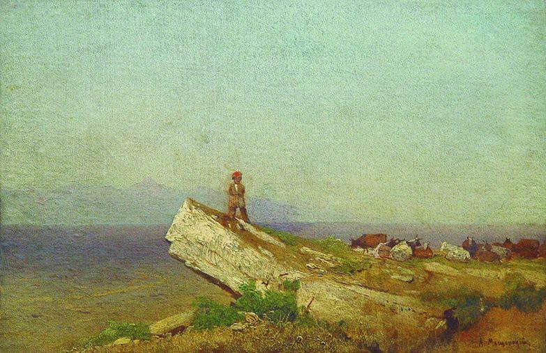 Пейзаж. 1860-е. Arseny Meshersky