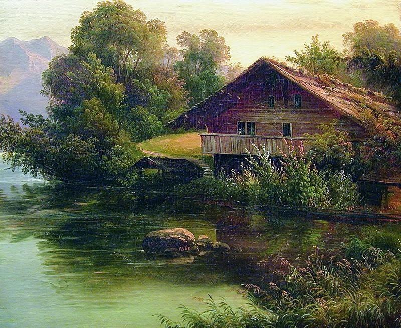 У воды. 1860. Арсений Мещерский