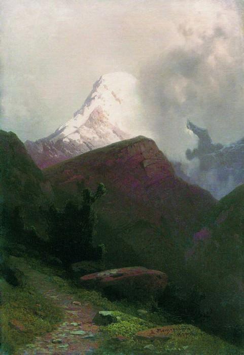 Горная тропа. 1887. Арсений Мещерский