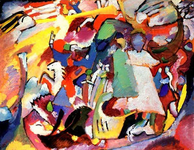 Все святые I. 1911. Vasily Kandinsky
