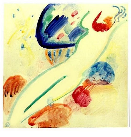 Обнаженная. 1911. Vasily Kandinsky