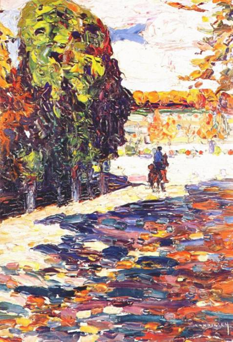 Без названия. (3) 1910. Vasily Kandinsky