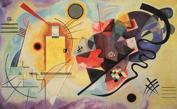 Желтое-красное-синее. 1925. Vasily Kandinsky