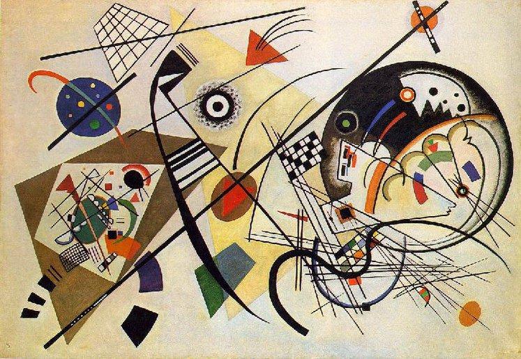 Секущая линия. 1923. Vasily Kandinsky