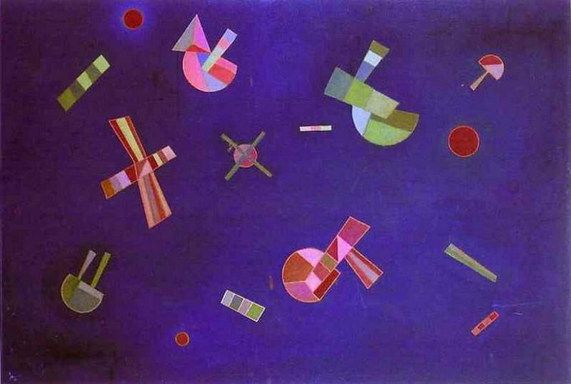 Застывший полет. 1932. Vasily Kandinsky