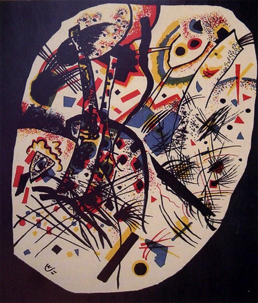 Маленькие миры III. 1922. Vasily Kandinsky