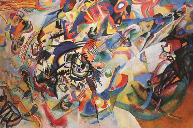 Композиция VII. 1913. Vasily Kandinsky