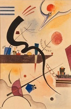 Спокойный изгиб. 1925. Vasily Kandinsky