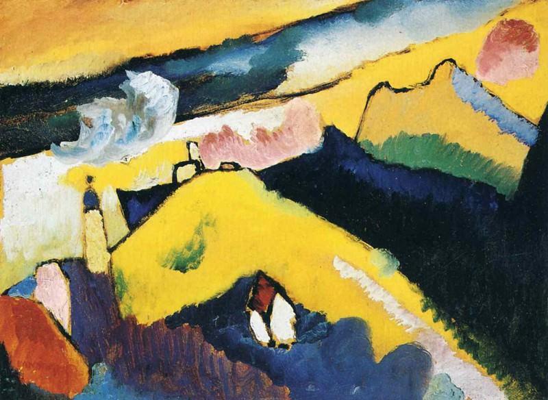Без названия. 1910. Vasily Kandinsky