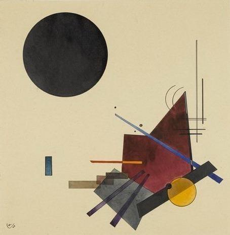 Черное отношение. 1924. Vasily Kandinsky