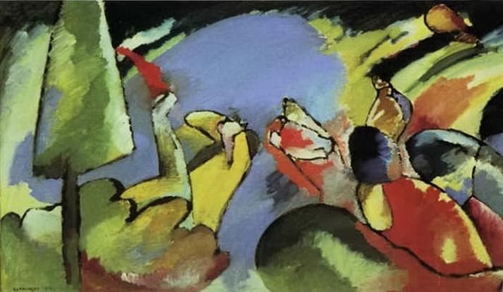 Импровизация 14. 1910. Vasily Kandinsky