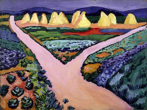 Без названия. 1908. Vasily Kandinsky