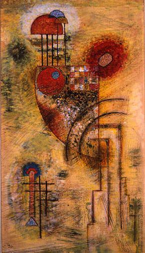 Сильное. 1929. Vasily Kandinsky