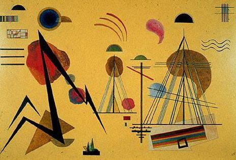 Линия-пятно. 1927. Vasily Kandinsky