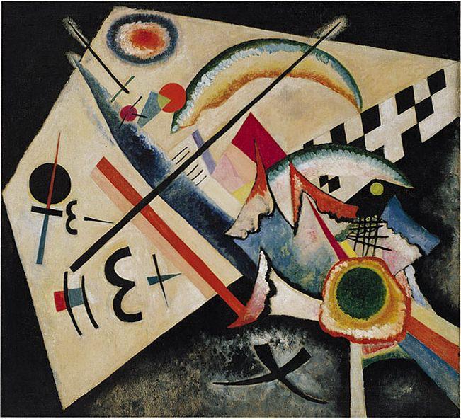 Белый крест. 1922. Vasily Kandinsky