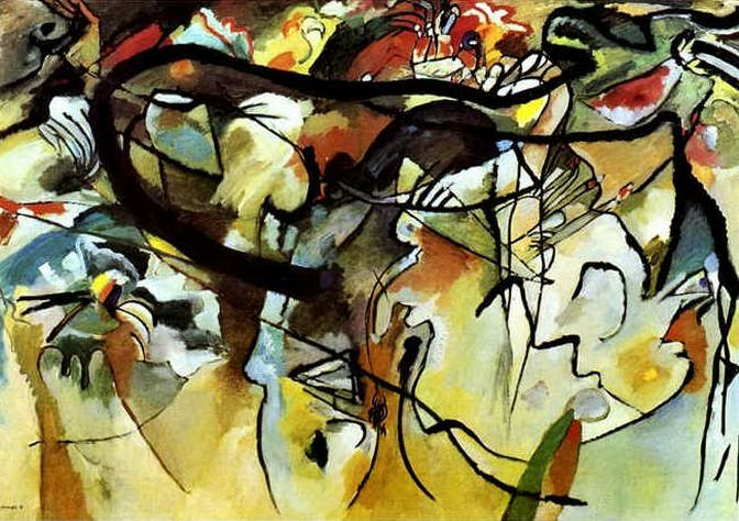 Композиция V. 1911. Vasily Kandinsky