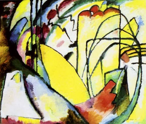 Импровизация 10. 1910. Vasily Kandinsky