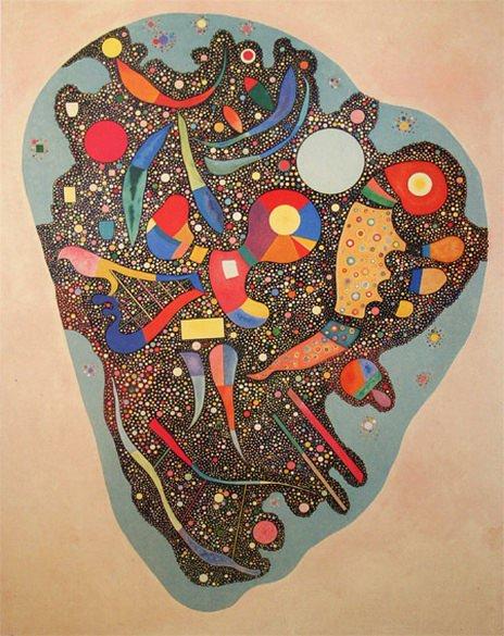 Пестрый ансамбль. 1938. Vasily Kandinsky