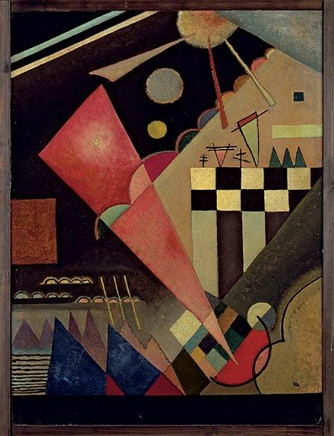 Тихий розовый. 1924. Vasily Kandinsky