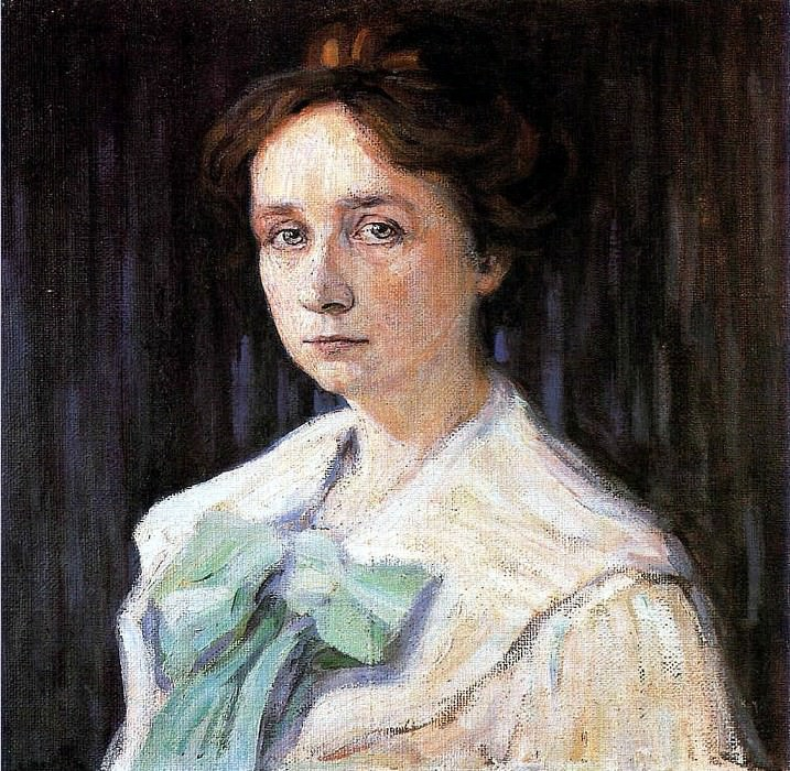 Габриэла Мюнтер (Gabriele Munter) 1905. Vasily Kandinsky