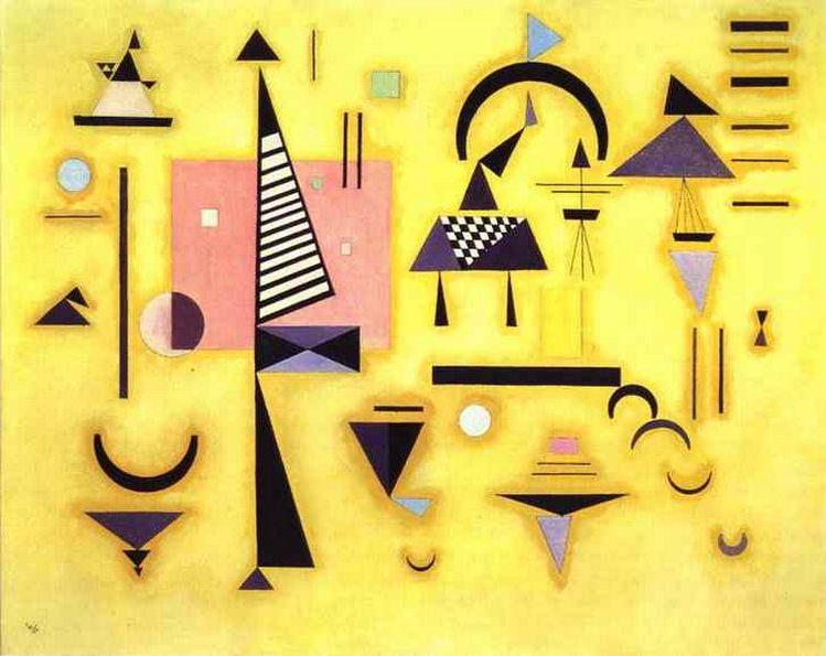 Решительный розовый. 1932. Vasily Kandinsky