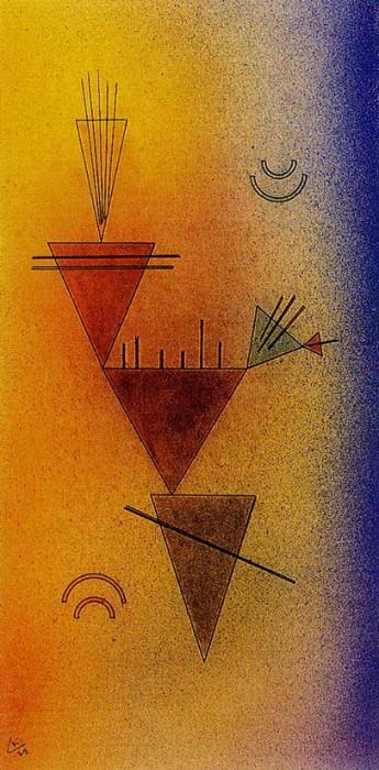 Маленькая игра. 1928. Vasily Kandinsky