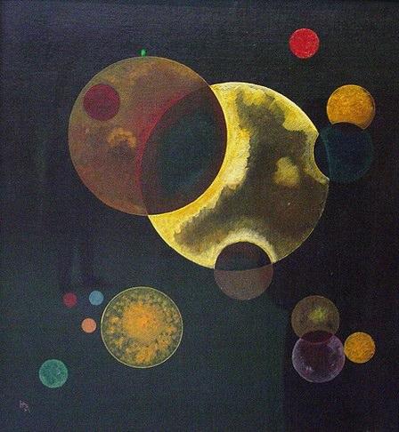 Тяжелые круги. 1927. Vasily Kandinsky