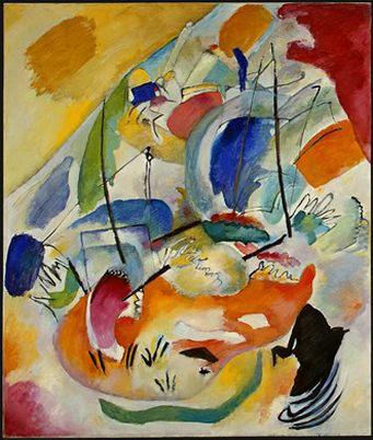 Импровизация 31 (Морской бой). 1913. Vasily Kandinsky