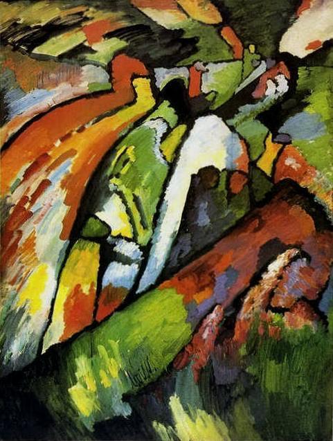 Импровизация 7. 1910. Vasily Kandinsky