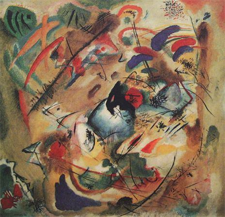Импровизация. Мечтательное. 1913. Vasily Kandinsky