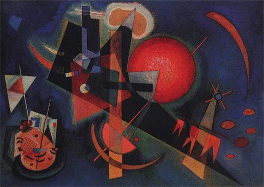 В синем. 1925. Vasily Kandinsky