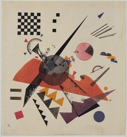 Оранжевое. 1923. Vasily Kandinsky