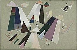 Без названия (Композиция с серым фоном). 1941. Vasily Kandinsky