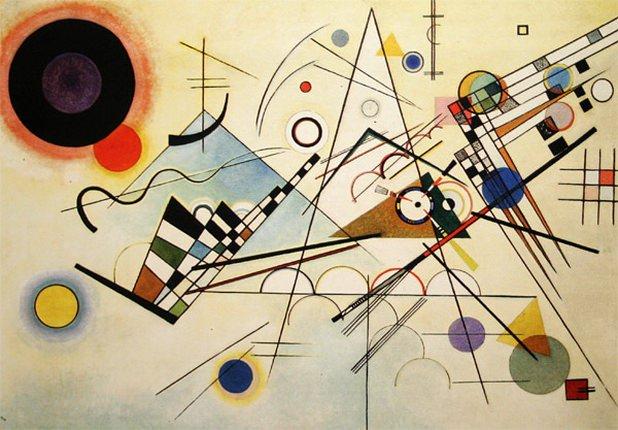 Композиция VIII. 1923. Vasily Kandinsky