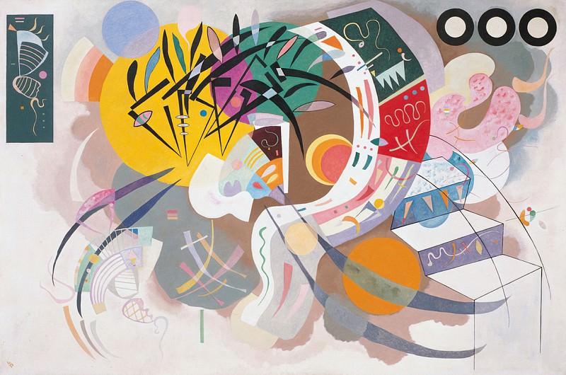 Доминирующая кривая. 1936. Vasily Kandinsky