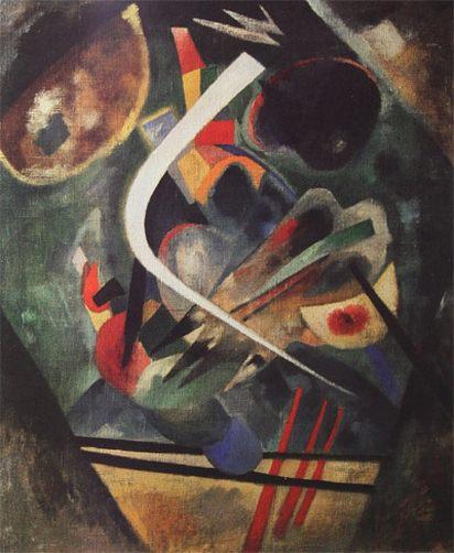 Белая линия. 1920. Vasily Kandinsky
