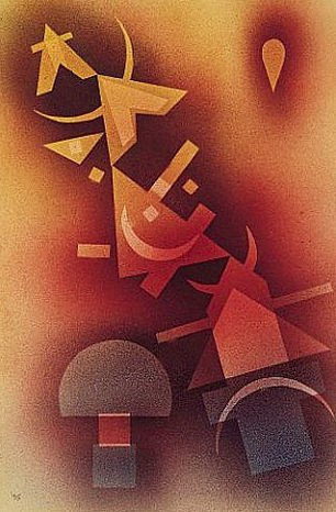 Из прохладных глубин. 1928. Vasily Kandinsky