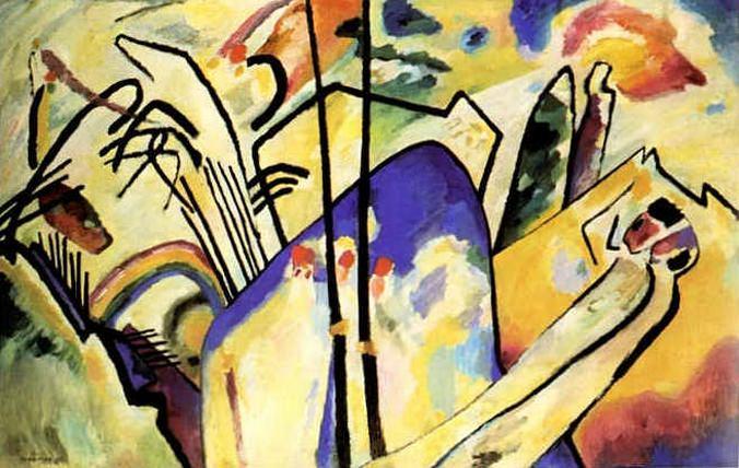 Композиция IV. 1911. Vasily Kandinsky