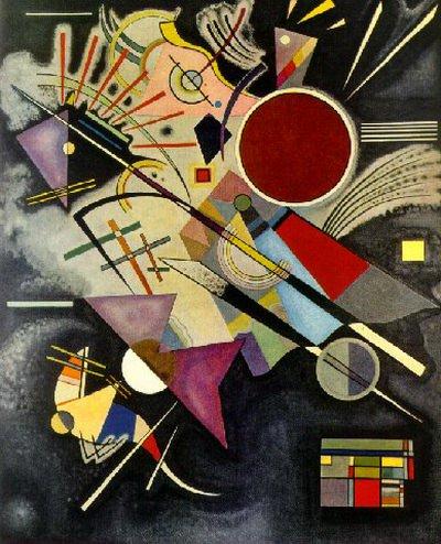 Черный аккомпанемент. 1924. Vasily Kandinsky