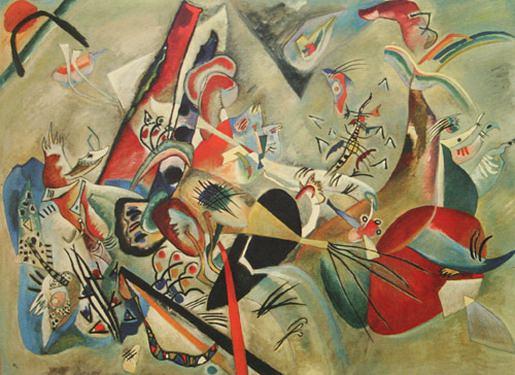 В сером. 1919. Vasily Kandinsky